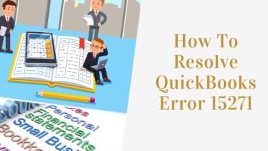 Photo of How To Resolve QuickBooks error 15271