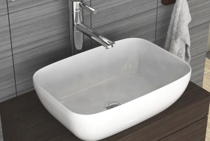Photo of Cloakroom Suite With Round Countertop Basin Looks Wonderful